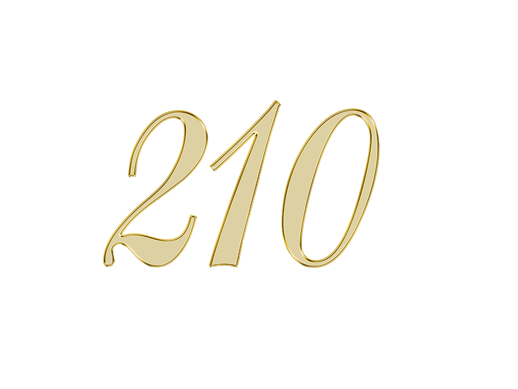 エンジェルナンバー 210