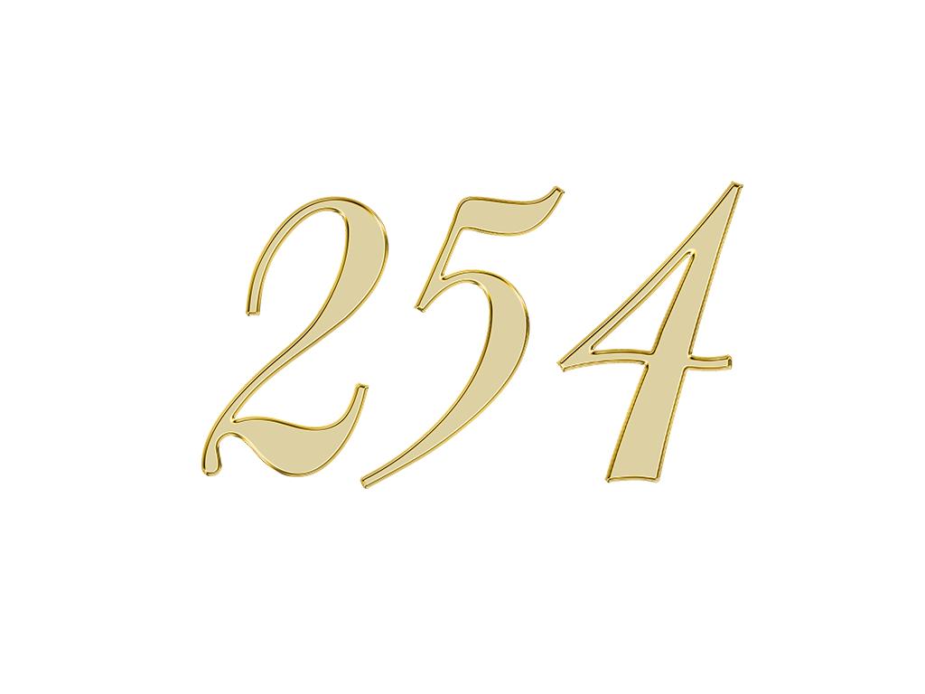 エンジェルナンバー 254